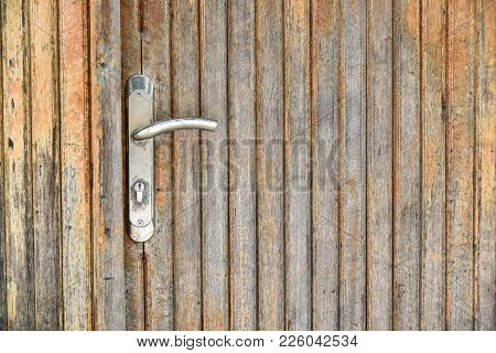 Door Handle Chrome Door Knob,door Lock Safety House Concept