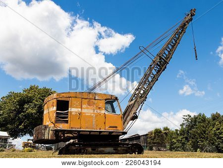 One Very Old Crane That Has Done It Time.