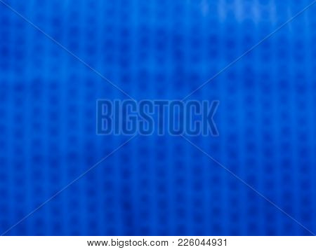 Blur Blue Cloth Texture Background For Your Design.