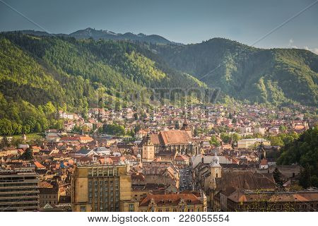 The City Of Brasov, The Old Town, The City In The Heart Of Transylvania