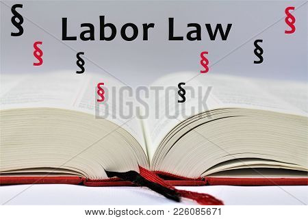 An Concept Image Of A Labor Law