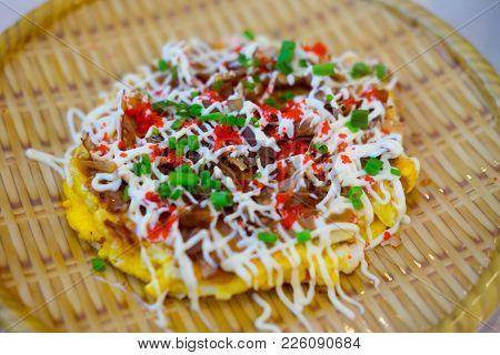 Japanese Okonomiyaki Is Japanese Pizza Great And Yammy
