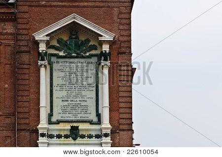 Monument For King Vittorio Emanuele