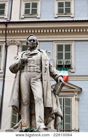 Statue Of Vincenzo Gioberti