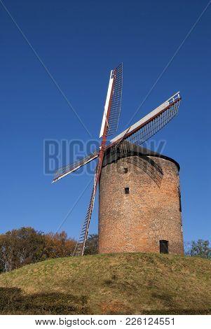 The Grafelijke Korenmolen Is A Tower Mill In Zeddam. The Mill May Have Been Built Before 1441, Makin