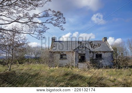 A Derelict Cottage Found In County Donegal.