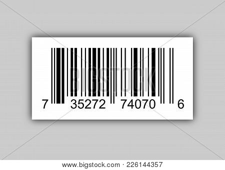 Sample Bar Codes For Scanning Icon Vector Illustration Isolated