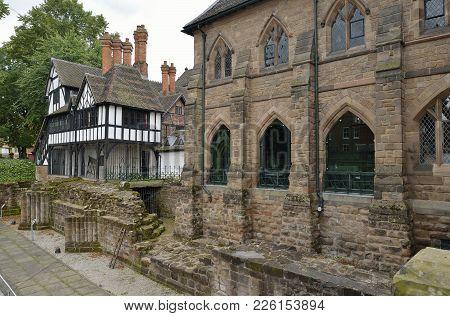 17Th Century House & 19Th Century Blue Coat School