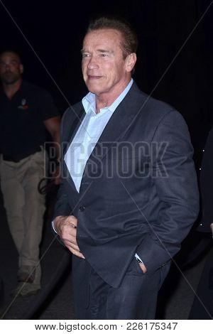 LOS ANGELES - FEB 5:  Arnold Schwarzenegger at the