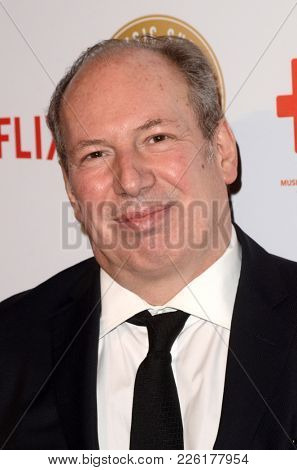 LOS ANGELES - FEB 8:  Hans Zimmer at the Guild of Music Supervisors Awards at The Theatre at Ace Hotel on February 8, 2018 in Los Angeles, CA