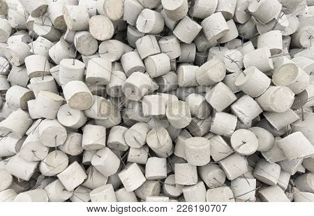 The Mortars Concrete Of Construction For Support
