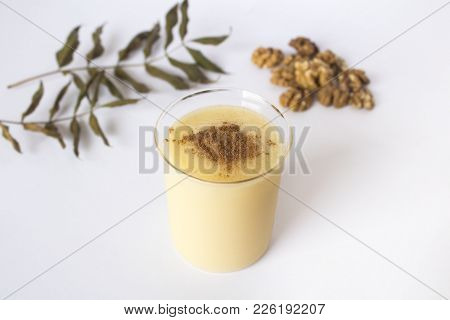 Traditional Turkish Drink Consumed Frequently During Winter Months Boza Or Bosa.