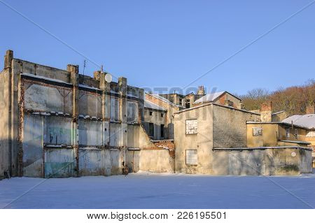 Cityscape - Old Abandoned Houses For Demolition