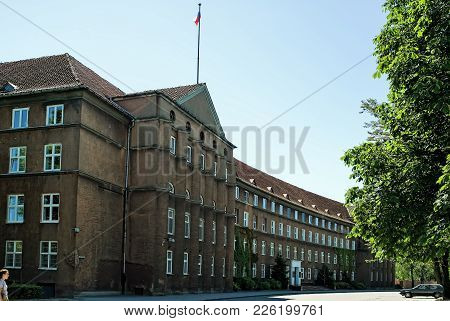 Kaliningrad, Russia - June 27, 2010: Building Of Kaliningrad Region Government. It Is Located In Ger