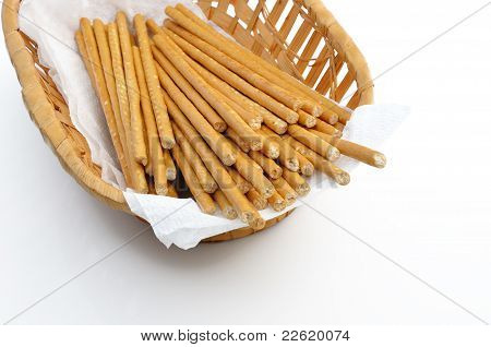 Bread Sticks (straws).