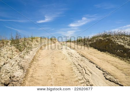 The Road In The Sands