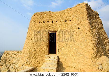 Dhayah Fort, Historical Location In North Ras Al Khaimah United Arab Emirates