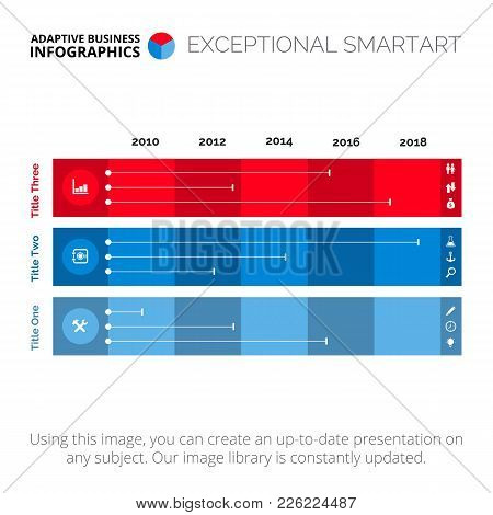 Comparing Three Parts Chart. Element Of Diagram, Presentation, Graph. Concept For Infographics, Temp