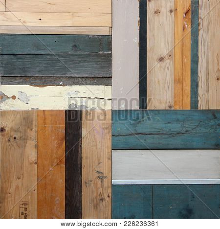 Wodden Background And Texture In Many Different Colors