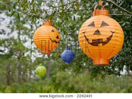 Hanging Pumpkin