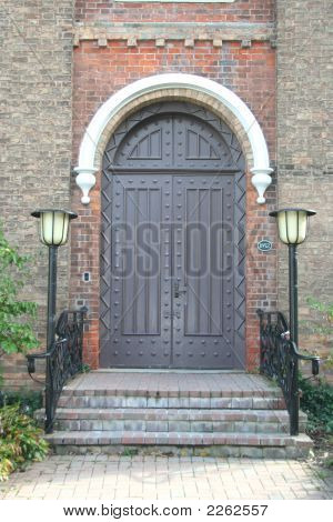Old Church Doorway