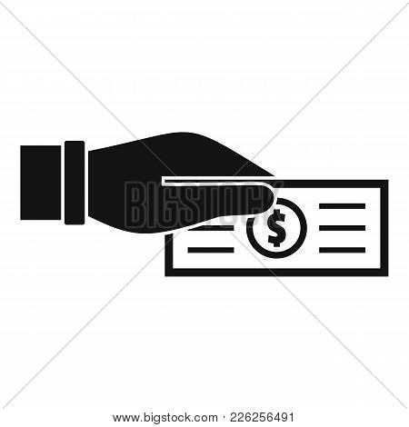 Take Tax Icon. Simple Illustration Of Take Tax Vector Icon For Web