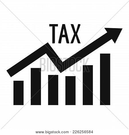 High Tax Icon. Simple Illustration Of High Tax Vector Icon For Web