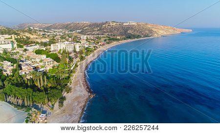Aerial Pissouri Bay, Limassol, Cyprus