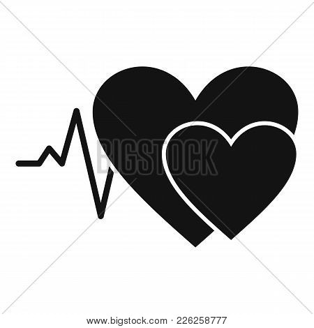 Cardiology Icon. Simple Illustration Of Cardiology Vector Icon For Web