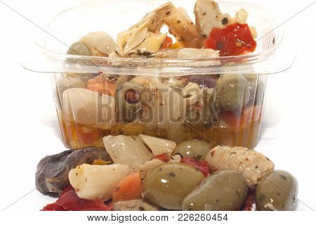 Pack Of Vegetables In Oil Appetizer Pack Of Vegetables In Oil Appetizer