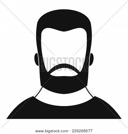 Hipster Icon. Simple Illustration Of Hipster Vector Icon For Web