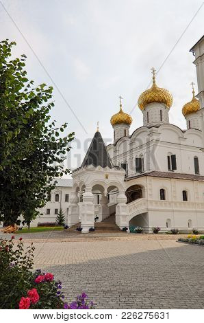 The Path To The Cathedral In Ipatievsky Monastery, Kostroma, Russia.