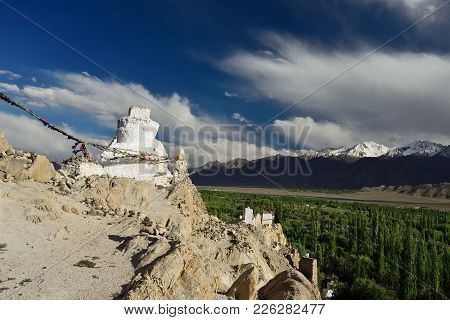 Thiksey The Largest Buddhist Monastery In Ladakh, India