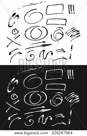 Hand Drawn Sketchy Elements For Your Design.