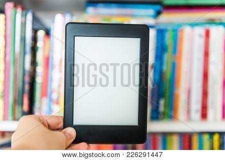Ebook Or Digital Reading Tablet Device