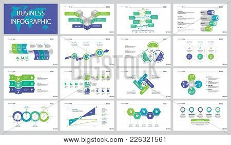 Infographic Design Set Can Be Used For Workflow Layout, Presentation, Annual Report. Business Develo
