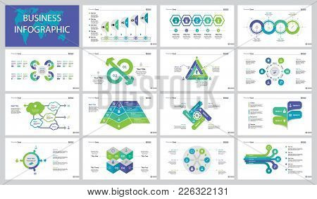 Infographic Design Set Can Be Used For Workflow Layout, Presentation, Annual Report, Web Design. Bus
