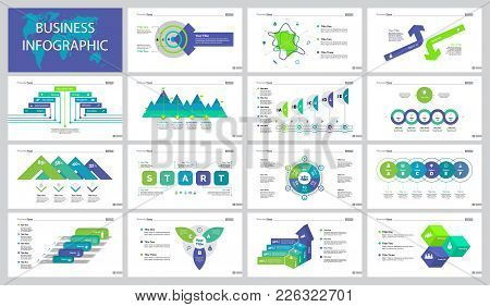 Infographic Design Set Can Be Used For Workflow Layout, Web Design, Annual Report, Presentation. Bus