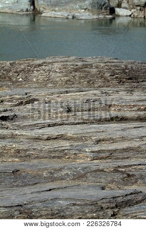 Rock Formation In Nagatoro, Chichibu, Saitama, Japan