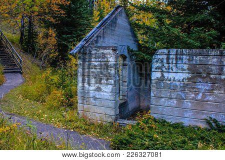 Lower Bankhead, Coal Mine Ghost Town, Banff National Park, Alberta, Canada