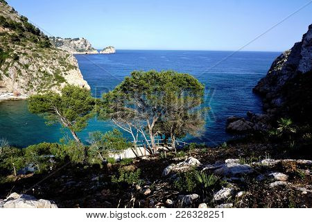 Cala Grandadella Is One Of The Most Beautiful Beaches In Spain