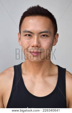 A Portrait Of An Asian Chinese Male