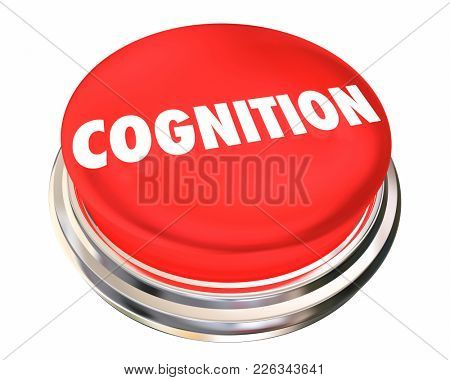 Cognition Button Satisfaction Service Attention 3d Illustration