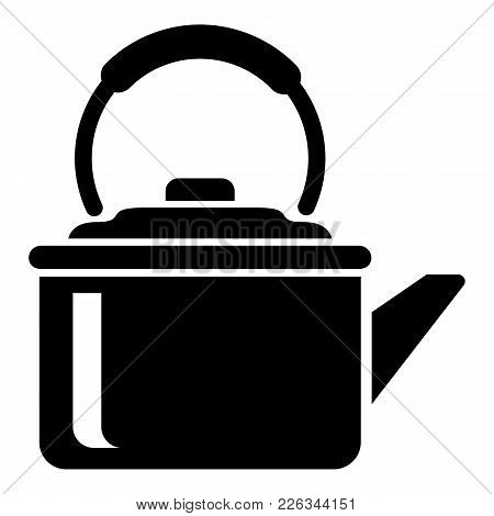 Teapot Cap Icon. Simple Illustration Of Teapot Cap Vector Icon For Web
