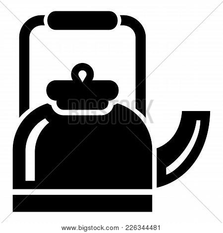 Standing Teapot Icon. Simple Illustration Of Standing Teapot Vector Icon For Web