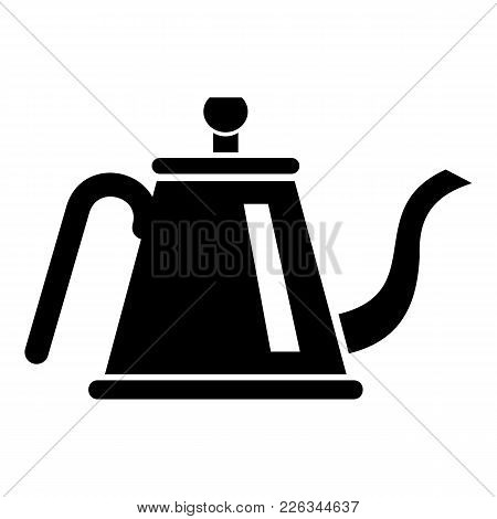 Teapot With Ceremony Icon. Simple Illustration Of Teapot With Ceremony Vector Icon For Web