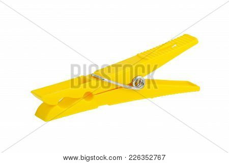 Yellow Clothes-peg