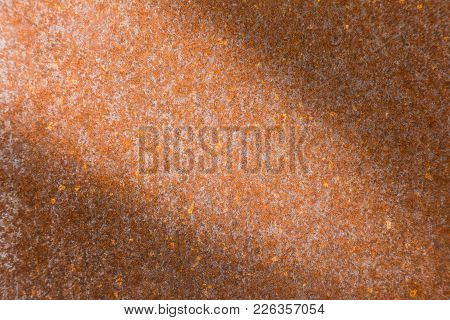 Rusty Metal Texture Or Rusty Metal Background. Rusty Metal For Interior Exterior Decoration And Indu