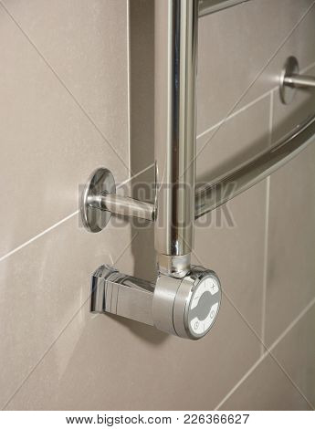 Towel Radiator Heating Elements.thermostatic Electric Towel Rail For Bathroom.