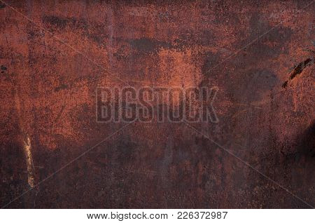 Old Rusty Metal Sheet Texture Background, Rusty Texture